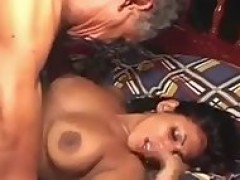 21 Year cougar Indian broad screwed By 65YR older Man_Indian_Porn_Sex_Clip