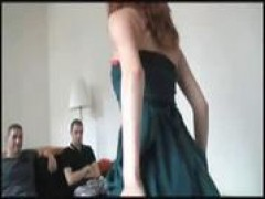 Alexandra pounded in a threesome