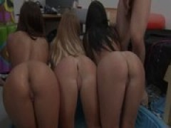 teen students fuck on college party