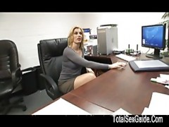Hot blonde MILF sexed By A giant .