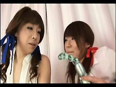 asian Coeds 1st Anal Play!