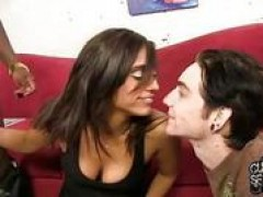 Reena Sky goes black in front of her cuckold by forester42