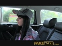 FakeTaxi skinny teen model trys to fit h .