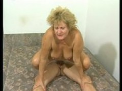 Plump Euro MILF gets plowed hard by young lover