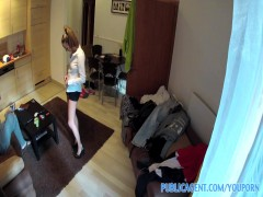 PublicAgent Homemade movie with the hotel cleaner