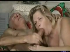 old lovers have wild sex at home