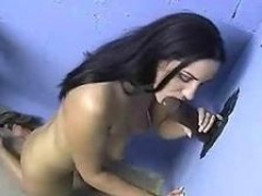 Mia East at a Gloryhole