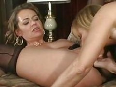 Nikki and Nicole Moore  Milf Lesbians cunt Play