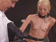 Dr Sparky shocks and mounts Carla