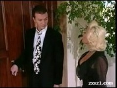 Rich Blond American Milf in Stockings fuc .