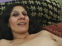 Hairy mature Bexxy banged