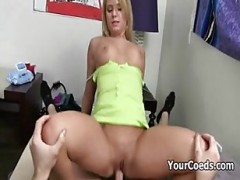 Excited Shaved cunt banged By F.