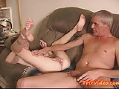 IMPREGNATING my naughty young Step Daughter