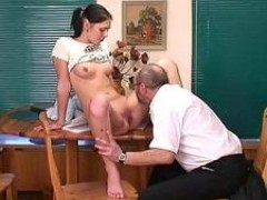 attractive lesson in naughty seduction