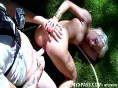 sexy carwash and outdoors fucking
