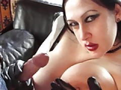 BBW Goth In Latex licks rod Part two! - TBJ - Bienne