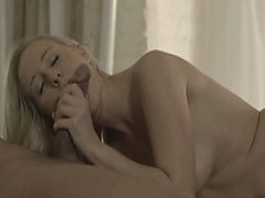 blonde broad Carla screwed On The Table