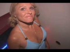 attractive MOM n81 blondie old inglory hole