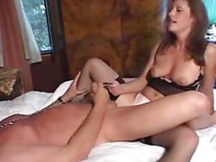 Secretary rides her boss with a s.