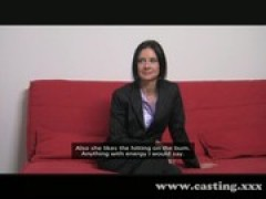 Casting - Business milf loves the penis