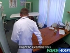 FakeHospital young model cums for tattoo removal doctor loves himself in her tight vagina by ReallyUseful