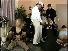 old German group sex and fisti.