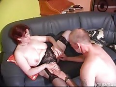German redhead older is a chick
