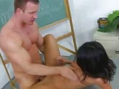 hot chick seducing her teacher