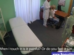 Doctor massages her patient with hot behind by ismintha76