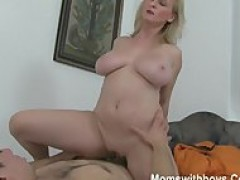 huge titties And Anal Play With Hot cougar chick