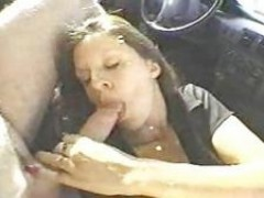 This wifey Fuck two Strangers In The Car