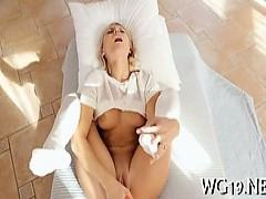 sweety Caresses Wet snatch