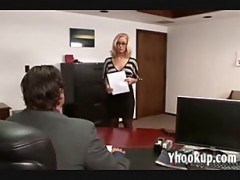 Nicole rides in office