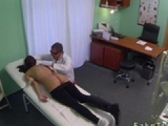 Stressed babe gets cunt pounded by her doctor by jakovlopat