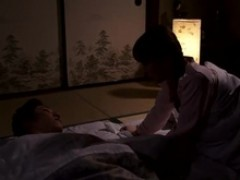 Yui Hatano Gives A cute lick To Some Elderly bloke
