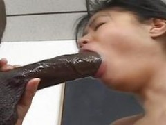 ebony cock for her holes