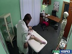 cute patient gets hammered by the doctor