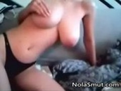 chick fiance Showing Her huge boobies