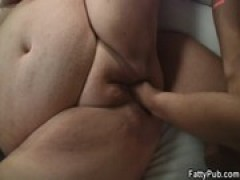 nasty BBW gets boned and fisted