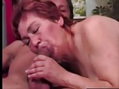 mature grandmother Gets Some Real rod