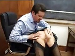 Schoolgirl loves It When The Teacher licks Her