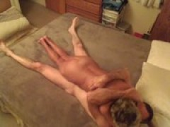 granny Shirley and bf Toy Fuck
