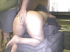 Spanking the wife again.