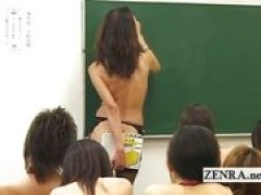 First day of national nude school Japan
