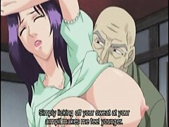 Japanese Hentai Mom With big Jugs Gets drilled By older lover