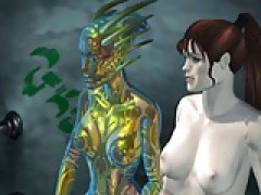 3D-Porno Mation -Monsters Fuck-