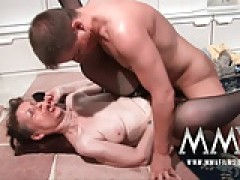 MMVFilms German grandmother knows how to fuck