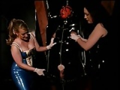 Latex Mistress's and rubberslave skank