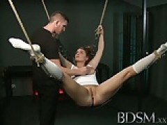 BDSM XXX pretty sub does not know when to shut up