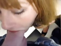 broad blows males rod, then gets plowed in office